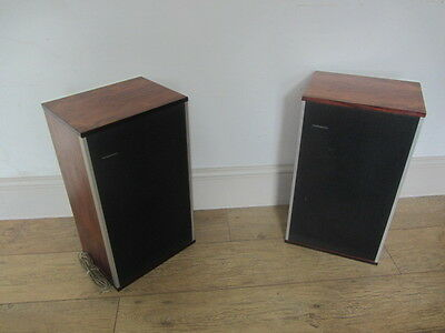 Vintage Mid Century Danish Tandburg Quality Speakers