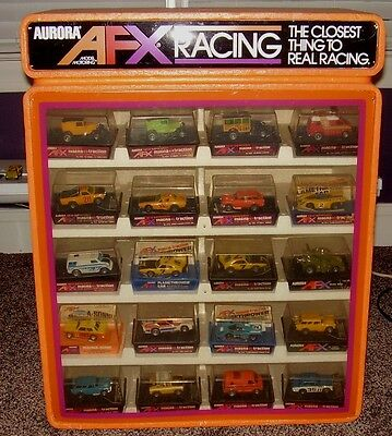 AFX Slot Car Store Display Without Cars DISPLAY ONLY