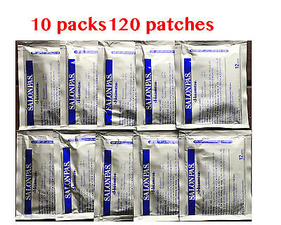 Salonpas Patch Hisamitsu Pain Relieving 10 packs 120 patches Made in Vietnam