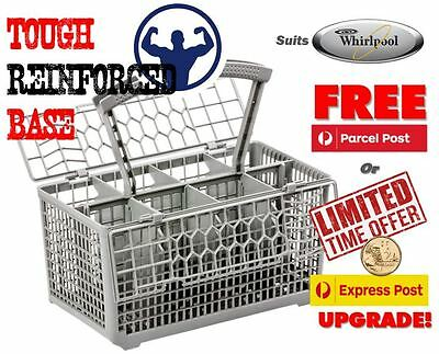 Best quality dishwasher cutlery basket, suits Whirlpool. Very strong base