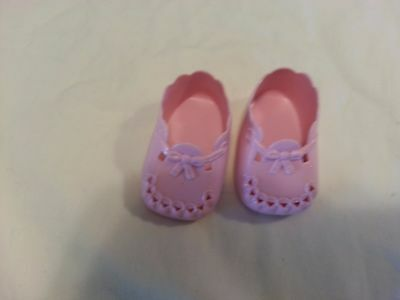American Girl Doll Bitty Baby BIRTHDAY PINK PLASTIC SHOES ONLY
