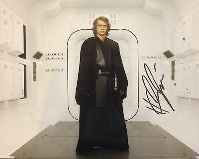 "Star Wars HAYDEN CHRISTENSEN ""Anakin Skywalker"" signed 8x10 Photo Autograph"