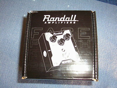Randall FACEPUNCH 3 knob overdrive Guitar Effect Pedal