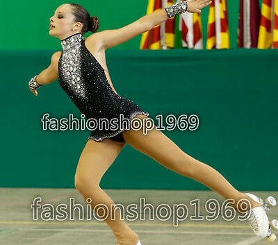 2017 New Ice Figure Skating Dress  Baton Twirling Dress For Competitio xx284