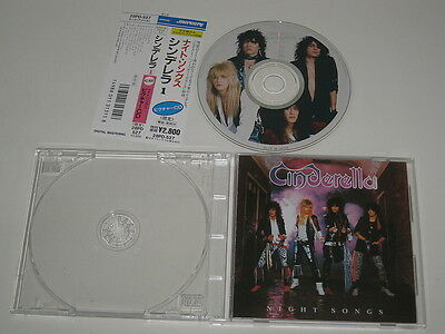 Cinderella/night Songs((Mercury 28Dp-527) Japan Picture Cd + Obi