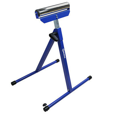 Kobalt Steel Adjustable Table Roller Stand Portable Support Non Slip End Caps