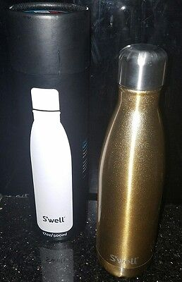 S'well Stainless Steel NEW Water Bottle, 17oz sparkling champagne new in box