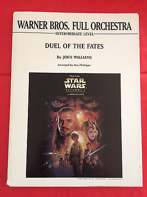 Duel Of The Fates, John Williams, arr. Roy Phillippe, Full Orchestra