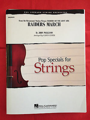 Raiders March (Raiders Of The Lost Ark), arr. Calvin Custer, String Orchestra