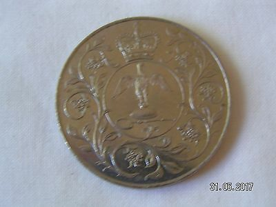 1977 -  Queen's Silver Jubilee Crown Five Pound £5 Coin