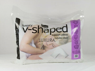 V Shaped Neck Support Pillow | Luxura