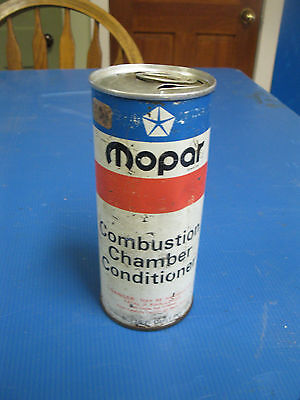 1972 MoPar #3419126 empty CAN of Combustion Chamber Conditioner Cuda Charger