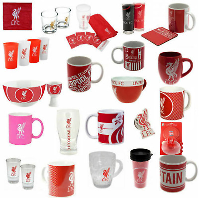Liverpool Fc Football Club Official No: 1 Fan Gift New Mug Coaster Glass Bowl