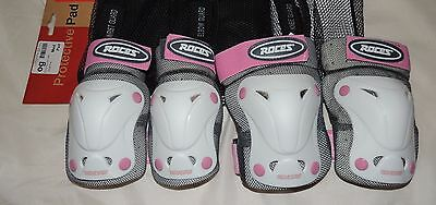 Roces Protective Pads Pack of 2 Girls Size Medium, Elbow, Knee Pads
