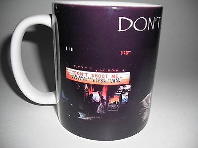 Elton John Don't Shoot Me I'm Only The Piano Player 1973 Album Cover Coffee Mug