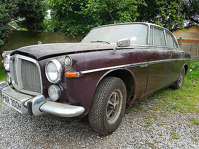 1970  Rover 3.5 Litre P5B Coupe Auto Garage Barn Find Restoration Project
