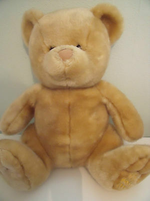 Chad Valley Beige Teddy Bear Winter Woolies 2002 Approx 16 Inches Seated