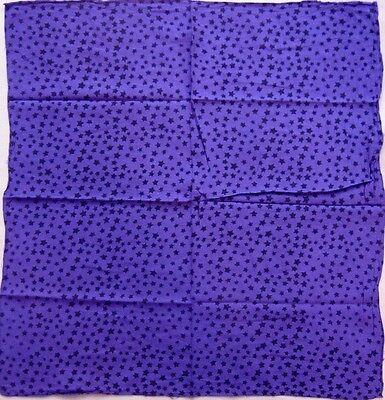 26 X 26 Purple With Black Star Altar Cloth-Celtic/Pagan/Wicca/Wiccan
