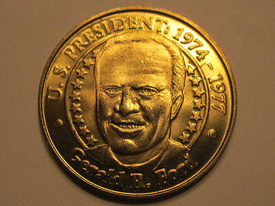 US President Gerald R. Ford Sunoco Presidential Coin Series 2000 token