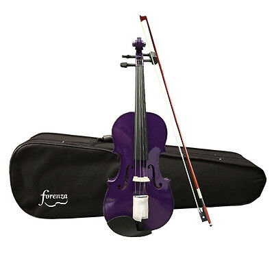 Forenza Uno Series Full Size Purple Violin Outfit - Factory Seconds