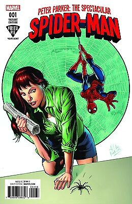 Peter Parker Spectacular Spiderman 1 M Perkins Fried Pie Variant Nm Amazing