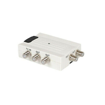 Sky Magic Eye 4 Way Splitter Amplifier for Control of 4 Magic Eyes from RF2 Port