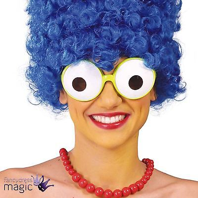 Marge Simpson Cartoon Funny Specs Glasses The Simpsons Fancy Dress Costume Eyes
