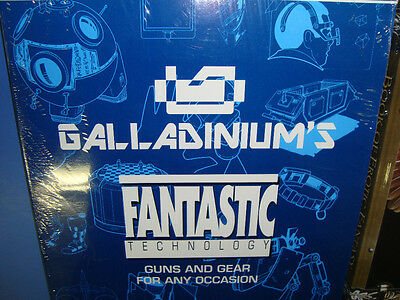 New! Galladiniums Star Wars Guns And Gear Fantastic Technology West End Games
