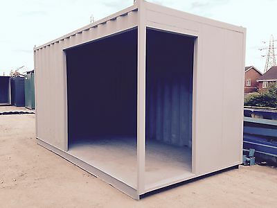 15ft Shipping Container SIDE ENTRANCE - Lancashire