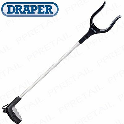 Quality EXTRA LONG Litter Picker/Pick Up Tool Easy Reach Mobility Grabber Assist