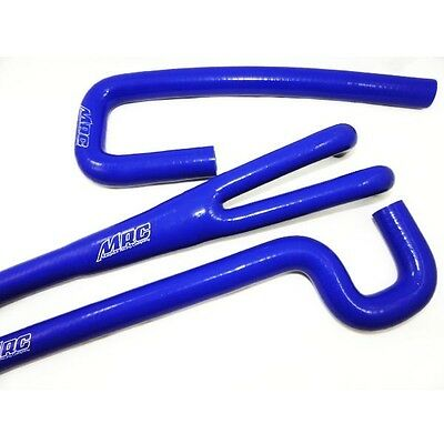 MRC Radiator Hose Kit, High Quality Silicone for CR125 Shifters - Blue -