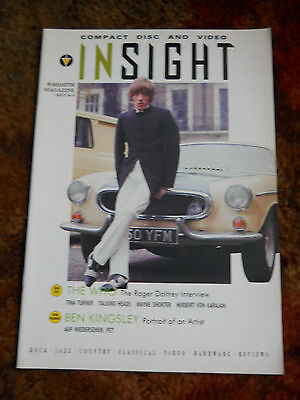 INSIGHT Magazine ROGER DALTREY THE WHO cover mod
