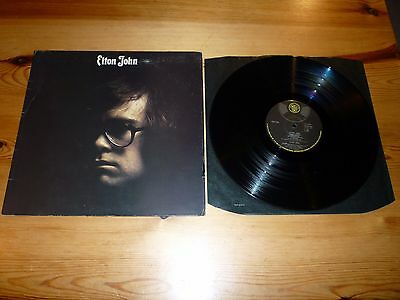 ELTON JOHN - ELTON JOHN DEBUT FIRST GATEFOLD ALBUM / LP / VINYL / RECORD / 33rpm