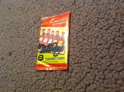 The Beach Boys    8 Trading Cards Sealed   Autographed????