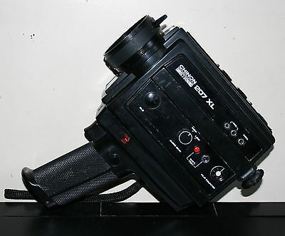Chinon Direct Sound 207XL Super 8mm Film Camera - Untested