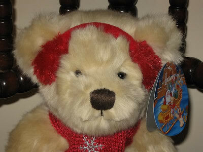 Harrods UK 2008 Christmas Bear Small Tomkin