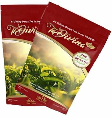 2 months' Supply - TeDivina 100% Organic Detox Slimming tea - Immediate shipment