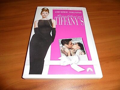 Breakfast at Tiffanys (DVD 2006 Widescreen) Audrey Hepburn Used Tiffany's