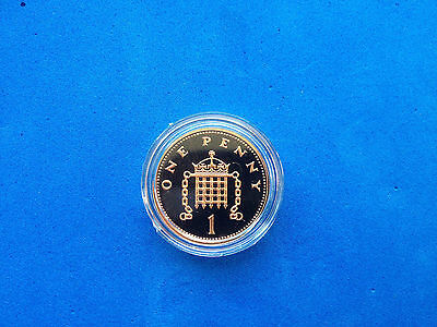 Royal Mint Portcullis/Shield Proof One Pence 1p Coin CHOOSE YOUR YEAR 1971-2017