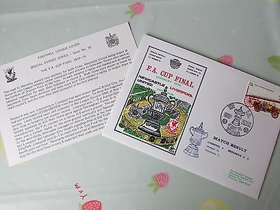 NEWCASTLE v LIVERPOOL 1974 FA Cup Final Wembley FOOTBALL First Day Cover FDC