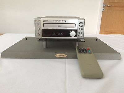 DENON UD-M3 CD Receiver Amplifier RDS FM AM AUX with RC-846 Remote & DENON Stand