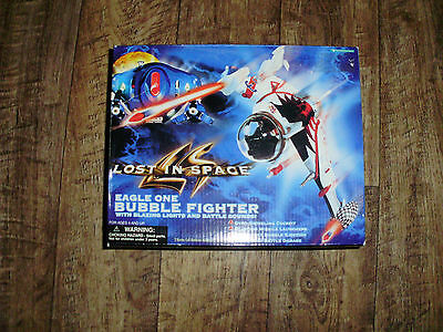 Lost In Space 1997 Eagle One Bubble Fighter With Blazing Lights And Sounds Mint