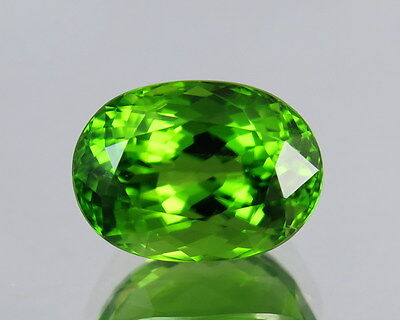 IF 9.90 Cts Oval Shape Top Quality Pakistan Natural Peridot