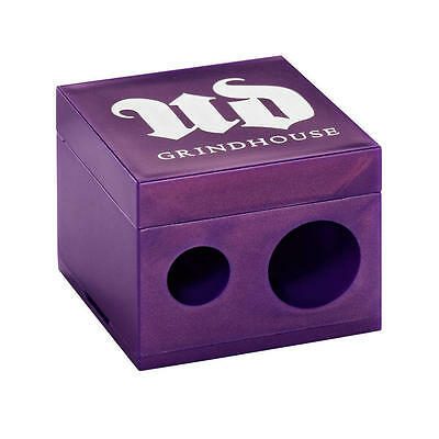 Urban Decay Purple Grindhouse Double Barrel Sharpener NEW