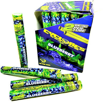 Cyclone Hemp Cone Blueberry Flavored Pre Rolled Cones - 4 Pack - 2 Each RYO