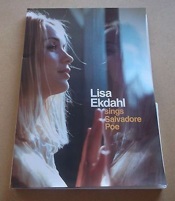 LISA EKDAHL Sings Salvadore Poe UK promo only A4 press pack with CD & photos