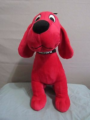 "Clifford the big red dog plush Khols Cares  15"" tall"