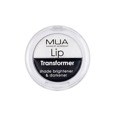 MUA MAKEUP LIP TRANSFORMER BALM CREAM Lipstick Base WHITE BLACK Goth Halloween