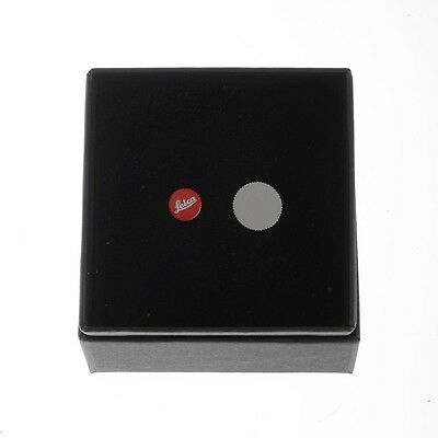 Leica Soft Release Button 8mm Red #14014, Boxed