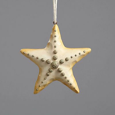 4054610 Jim Shore River's End Christmas Coastal Ornament Starfish NWT